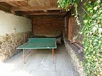 Krytý stolní tenis - Bušín