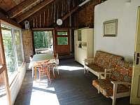 Prosklená terasa - Bušín