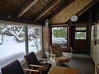 V zimě - chalupa ubytování Bušín