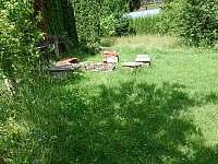 Zahrada - chalupa k pronajmutí Bušín