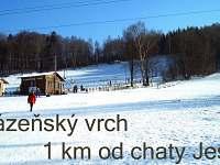 Lázeňský vrch 2 km od chaty