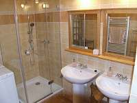 koupelna č.2 - chalupa k pronajmutí Rejvíz