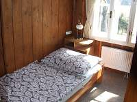 ložnice v 2.NP - chalupa k pronajmutí Rejvíz