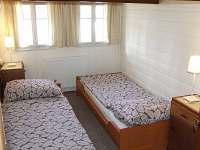 ložnice v 2.NP - chalupa k pronájmu Rejvíz