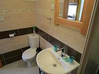 Nově zrekonstruovaná koupelna - chata ubytování Rapotín