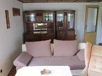 Obývací pokoj - chata k pronajmutí Rapotín