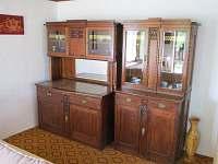 Obývací pokoj - chata k pronájmu Rapotín