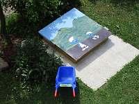 Pískoviště - chata ubytování Rapotín