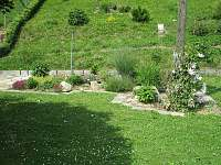 Zahrada - chata k pronajmutí Rapotín