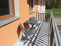 Balkón - apartmán k pronájmu Horní Lipová