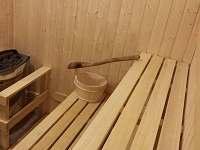 Finská sauna přízemí - chalupa ubytování Žárová