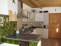 Kuchyň - chalupa k pronájmu Žárová