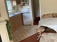 kuchyň - chata k pronajmutí Loučná nad Desnou