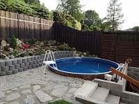 Bazén - chata ubytování Loučná nad Desnou