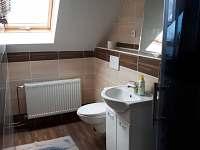 Koupelna - pronájem chaty Loučná nad Desnou