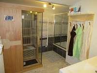 Chalupa Baletka - infra sauna