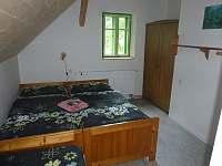 Chalupa Baletka - ložnice 4 postele