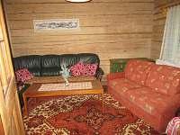 Chalupa Baletka - obývací pokoj