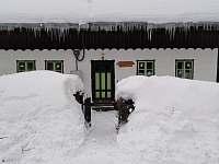Chalupa Baletka v zimě