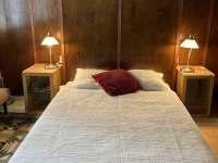 Čtyřlůžková ložnice s dětskou postýlkou a možností přistýlky - Bělá pod Pradědem