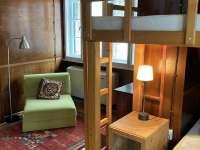 Čtyřlůžkový pokoj s přistýlkou - pronájem chalupy Bělá pod Pradědem
