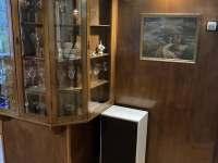 Původní vitrína - Bělá pod Pradědem
