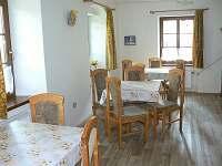 jídelna - chalupa ubytování Rejvíz