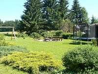 Zahrada - pronájem chalupy Rejvíz