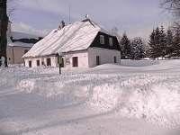 Zima - chalupa k pronájmu Rejvíz