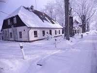 Zima - chalupa k pronajmutí Rejvíz