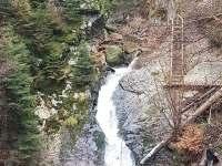 Rešovské vodopády - Rohle část Nedvězí