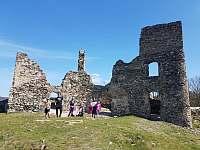 Zřícenina hradu Brníčko 6 km - Rohle část Nedvězí