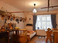 Slezskachalupa Křišťanovice, Kuchyně2 + postel - k pronájmu