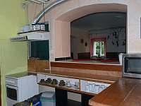 kuchyňka - pronájem chaty Zlatý Potok