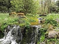 náš potok - chata k pronájmu Zlatý Potok