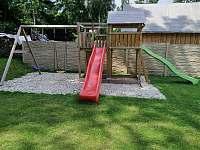 dětské hřiště - chata k pronájmu Malá Morava