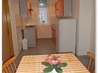 Kuchyně - 6 lůžkový apartmán - pronájem Lipová - lázně