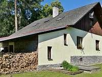 Chalupa ze zahrady s bylinkovou zahrádkou - ubytování Vrbno pod Pradědem - Mnichov