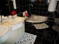 Koupelna - chalupa k pronajmutí Vrbno pod Pradědem - Mnichov