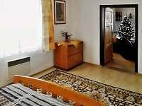 Ložnice v přízemí - chalupa k pronájmu Vrbno pod Pradědem - Mnichov