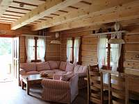společenská místnost, - chalupa ubytování Hynčice pod Sušinou