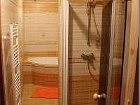 spodní koupelna - pronájem chaty Hynčice pod Sušinou