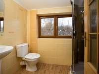 Koupelna 2 - chalupa k pronájmu Bělá pod Pradědem