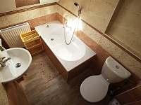 koupelna č. 2první patro - chalupa k pronajmutí Vysoká