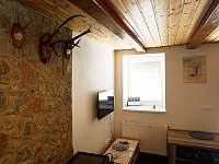 obývací pokoj - pronájem chalupy Vysoká