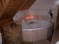 Koupelna - chata k pronájmu Štědrákova Lhota