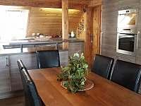 Kuchyň. - chata k pronájmu Štědrákova Lhota