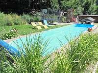 Plavací bazén. - Štědrákova Lhota