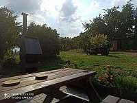 venkovní posezení - Hrabišín