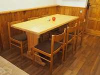Společenská místnost - stůl
